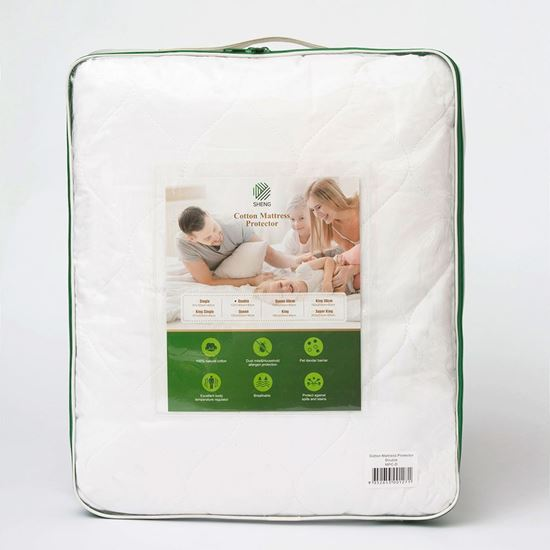 """Picture of """"SHENG"""" Cotton Mattress Protector"""