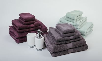 "Picture of ""MILDTOUCH"" 100% Combed Cotton 7PC Bath Towel Set"